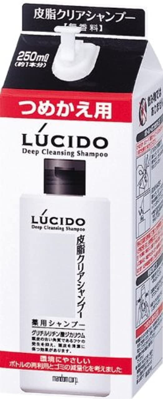 中央発明するマイコンLUCIDO (ルシード) 皮脂クリア薬用シャンプー 詰め替え用 (医薬部外品) 250mL