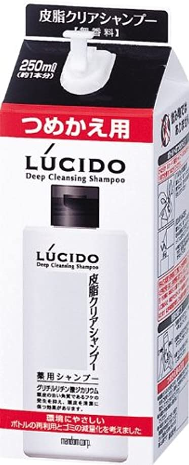 証書マダム椅子LUCIDO (ルシード) 皮脂クリア薬用シャンプー 詰め替え用 (医薬部外品) 250mL
