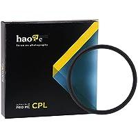 Haoge 77mm MC CPLマルチコートCircular Polarizer偏光レンズフィルタfor Canon Nikon Sony Minolta Pentax Olympus Panasonic Leica Zeiss TAMRONデジタルカメラDSLRレンズ