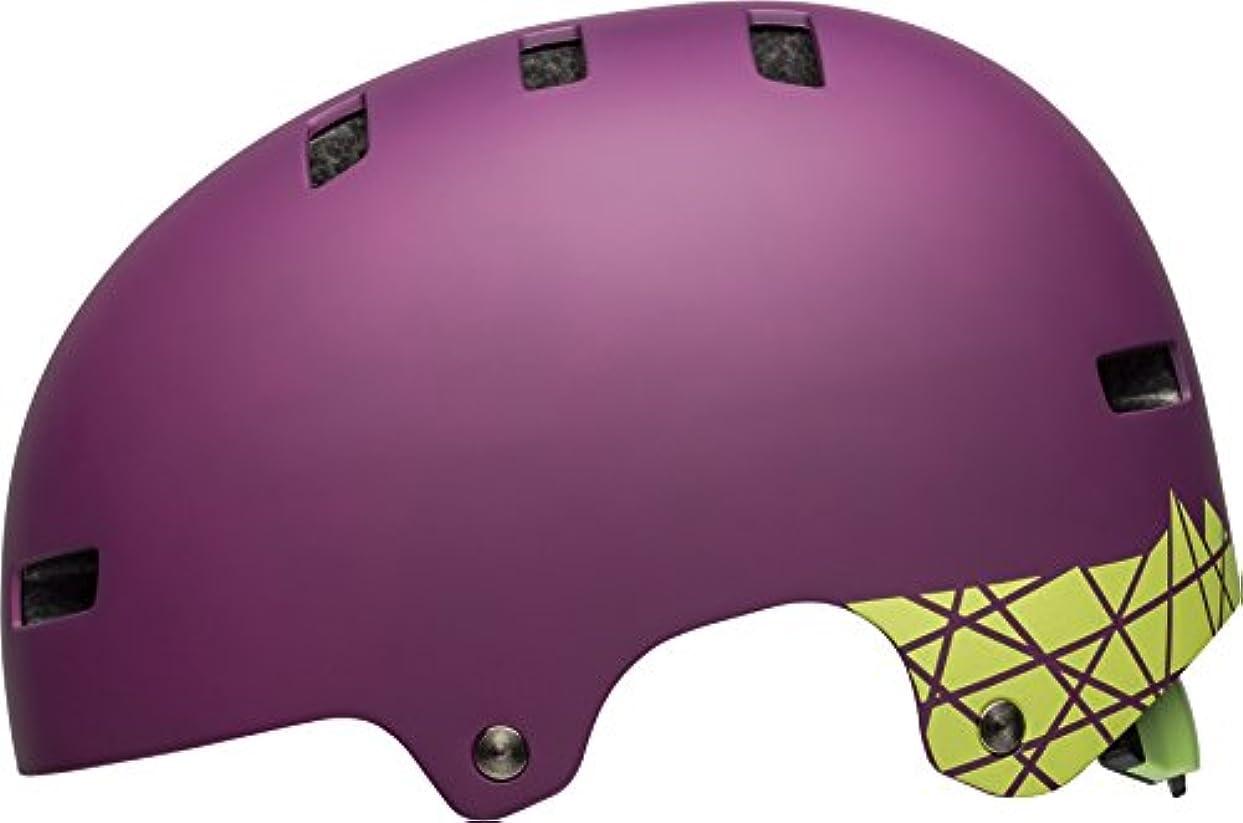 松の木ご意見役割BELL(ベル) ヘルメット 自転車 サイクリング BMX スケートボード LOCAL [ローカル マットプラムコーベルト M] 7090553 7090553 M