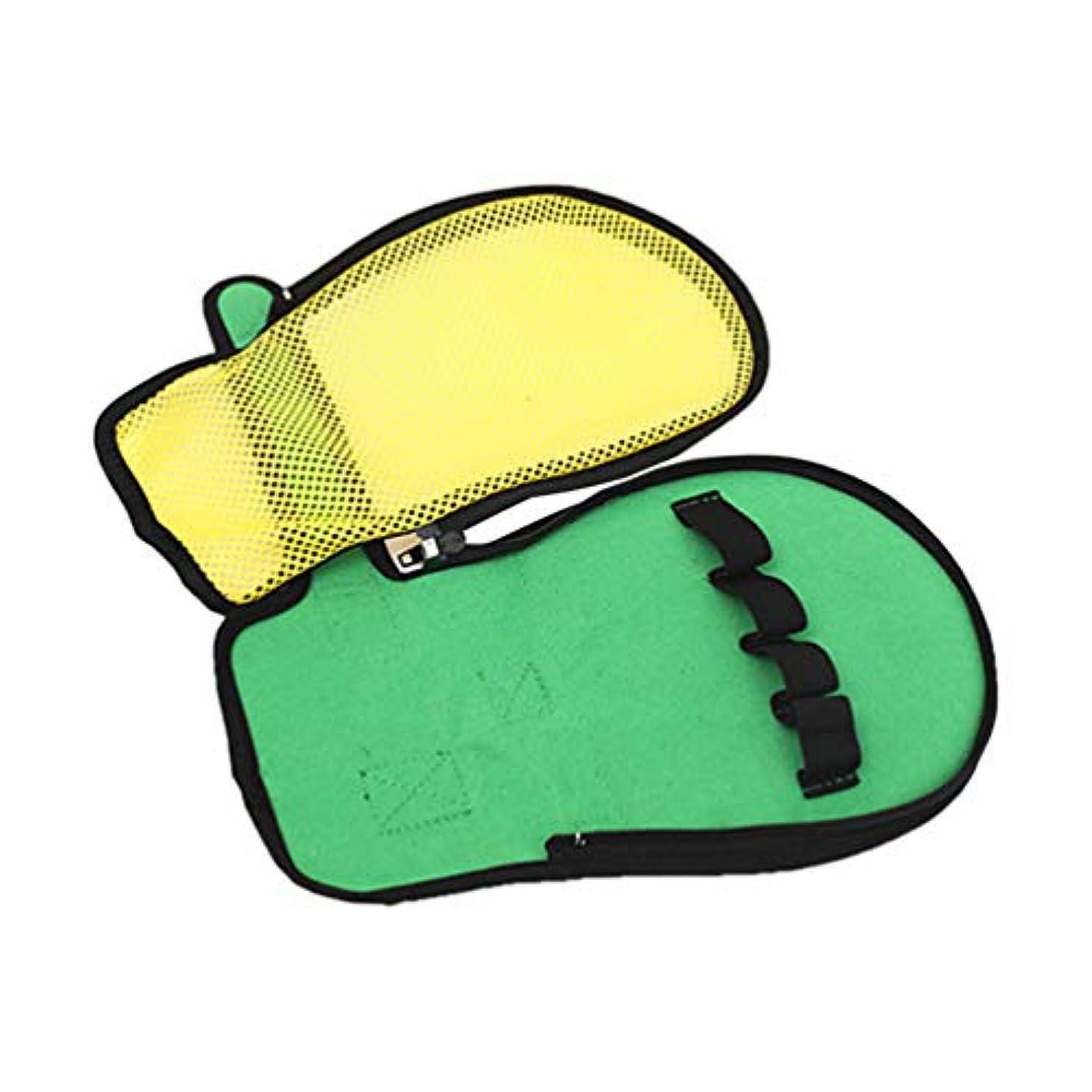 壊滅的なブラシリーFrcolor フィンガーコントロールミット取り外し可能通気性肥厚傷をつかみ止め拘束グローブ手首固定グローブ5指固定ベルト感染予防患者用