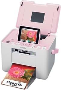 EPSON Colorio me コンパクトフォトプリンタ 3.6型TFTカラー液晶 高速赤外線通信標準搭載 Sugar Pink E-530P