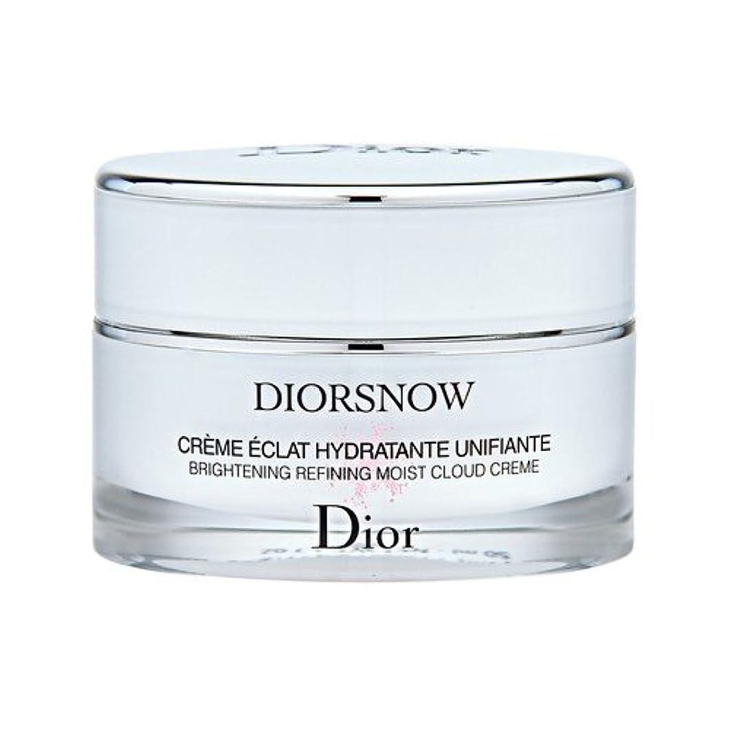 違法出発する以来クリスチャン ディオール(Christian Dior) スノー ブライトニング モイスト クリーム 50ml [並行輸入品]