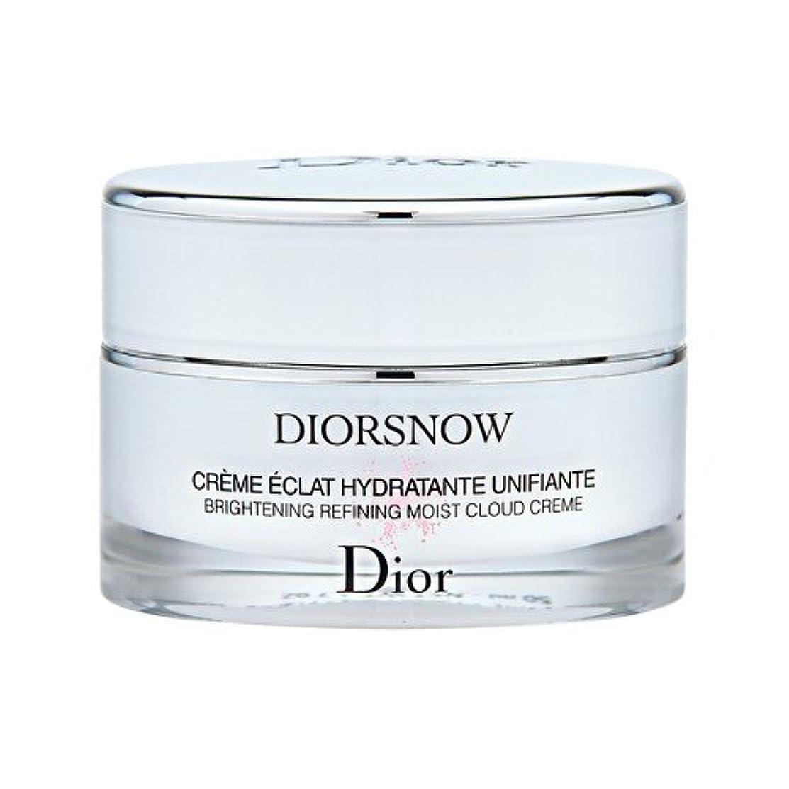 トラクターホップ弱いクリスチャン ディオール(Christian Dior) スノー ブライトニング モイスト クリーム 50ml[並行輸入品]