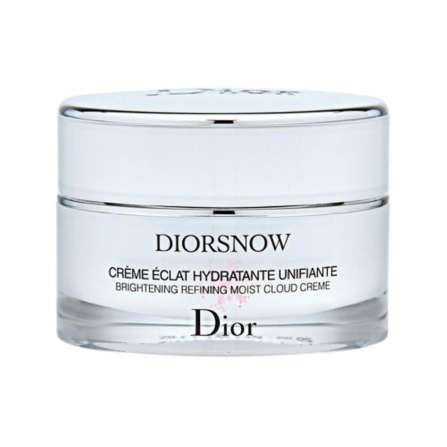煙突姿勢気分クリスチャン ディオール(Christian Dior) スノー ブライトニング モイスト クリーム 50ml[並行輸入品]