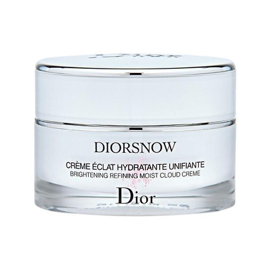 ペースたぶん浮くクリスチャン ディオール(Christian Dior) スノー ブライトニング モイスト クリーム 50ml [並行輸入品]