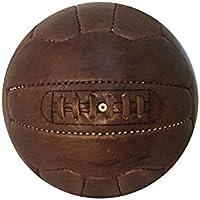アンティークレザーサッカーボールwith Laces – レプリカのボールで使用の1950 – ユニークなプレゼントサッカーファン