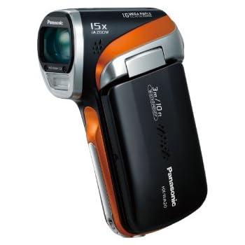 パナソニック デジタルムービーカメラ WA20 防水仕様 サンターングレー HX-WA20-H