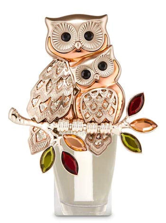 国民投票件名ロンドン【Bath&Body Works/バス&ボディワークス】 ルームフレグランス プラグインスターター (本体のみ) オウルズ ナイトライト フクロウ Wallflowers Fragrance Plug Owls Night...