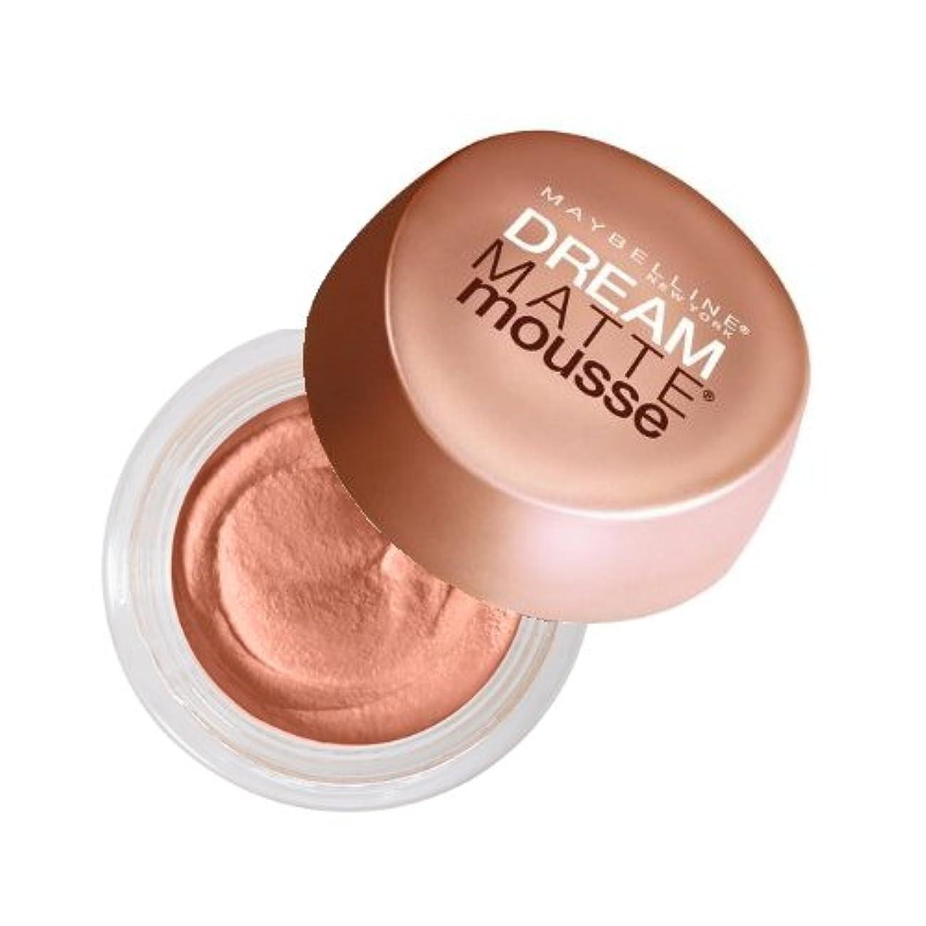 準拠圧力絶壁(6 Pack) MAYBELLINE Dream Matte Mousse - Caramel (並行輸入品)