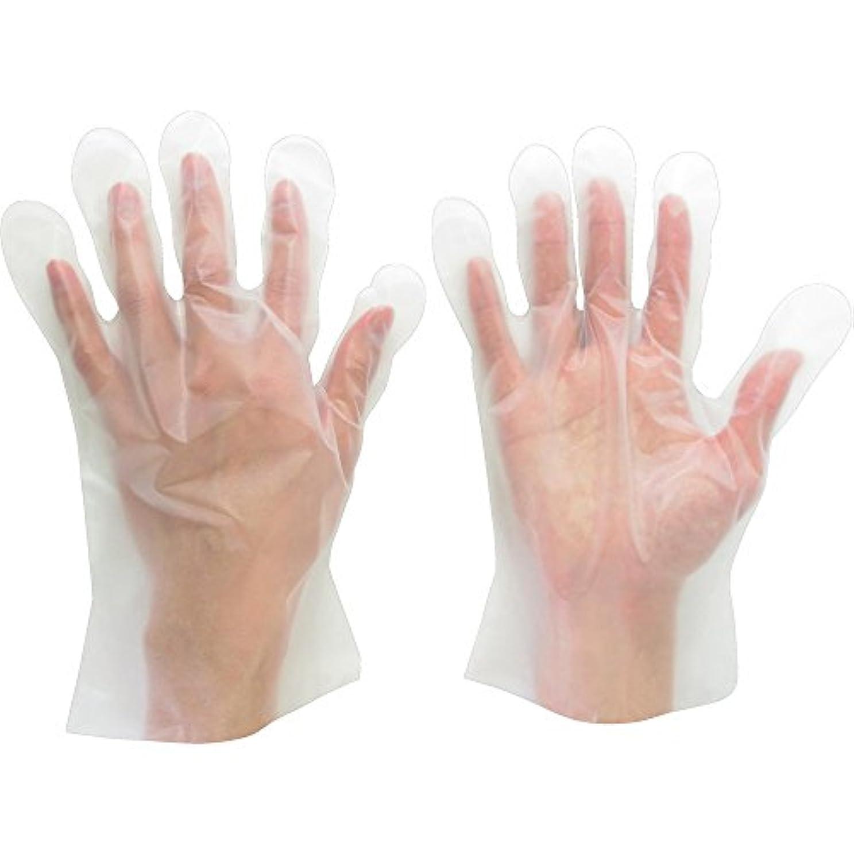 ミルク集中的な指令ミドリ安全 ポリエチレンディスポ手袋 ベルテ573 100枚 袋入 L VERTE-573-L ポリエチレン使い捨て手袋