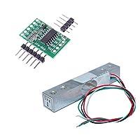KKHMF デジタルロードセル重量センサ5KGポータブル電子キッチンスケール + HX711計量センサーモジュールArduinoと互換