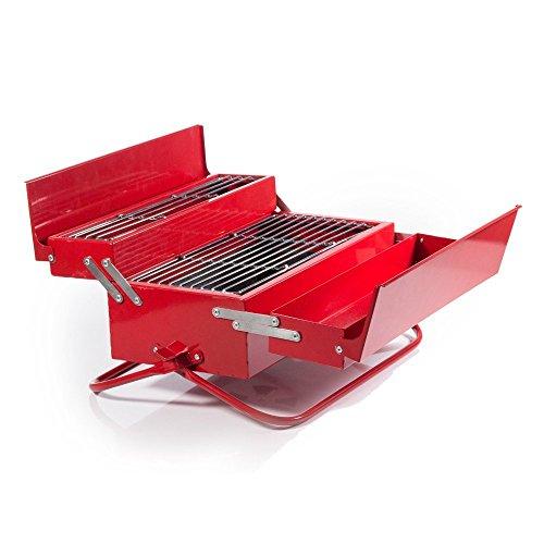 SUCK UK Toolbox BBQ, Red (並行輸入品)