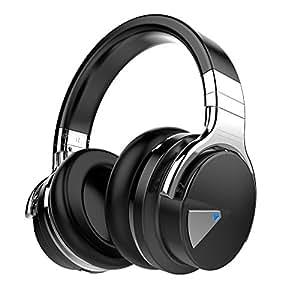COWIN E7 ワイヤレス Bluetooth ヘッドホン 密閉型 高音質 内蔵マイク NFC搭載 ケーブル着脱式 30時間再生 ハンズフリー通話可能 iphone X PC Mac などに対応 ヘッドフォン