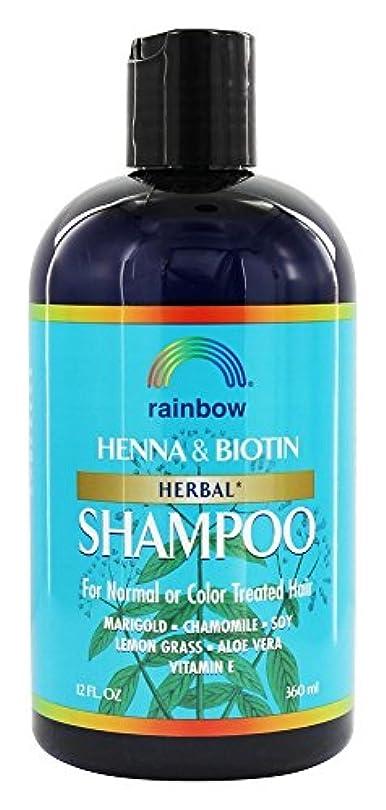 差し控えるカロリー以下Rainbow Research - 有機ハーブ ヘナ ビオチン シャンプー - 12ポンド [並行輸入品]
