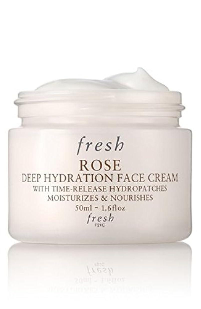 ぶどうビーチ上下するFresh ROSE Face Cream (フレッシュ ローズ フェイス クリーム) 1.6 oz (50ml) by Fresh for Women