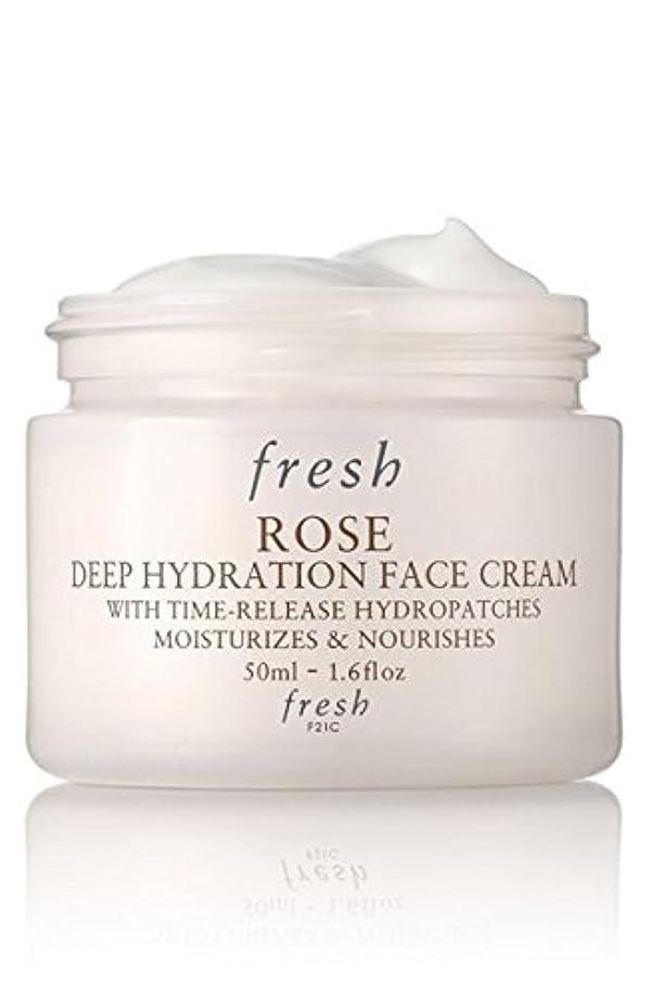 道路を作るプロセス掻く人道的Fresh ROSE Face Cream (フレッシュ ローズ フェイス クリーム) 1.6 oz (50ml) by Fresh for Women