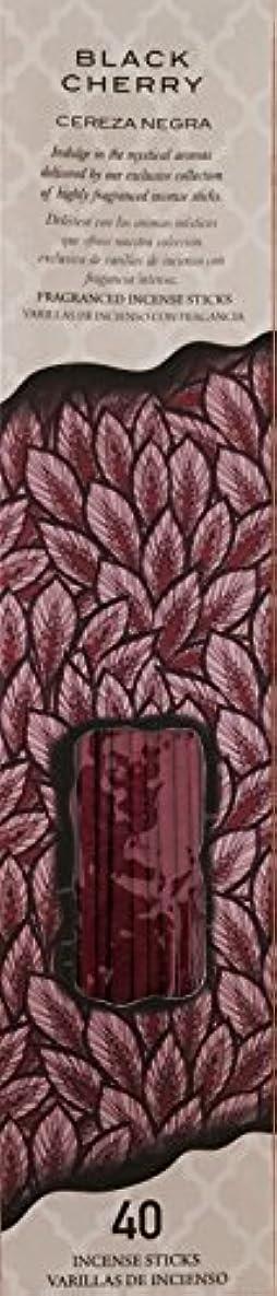 ロマンス額合図Flora ClassiqueブラックチェリーフルーツCereza Negra Therapy Incense 40 ct Fragancedスティック