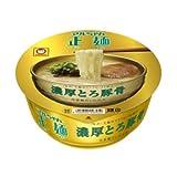 マルちゃん正麺 カップ 濃厚とろ豚骨 97g×12個