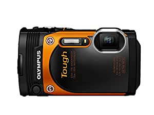 OLYMPUS デジタルカメラ STYLUS TG-860 Tough オレンジ 防水性能15m 可動式液晶モニター TG-860 ORG