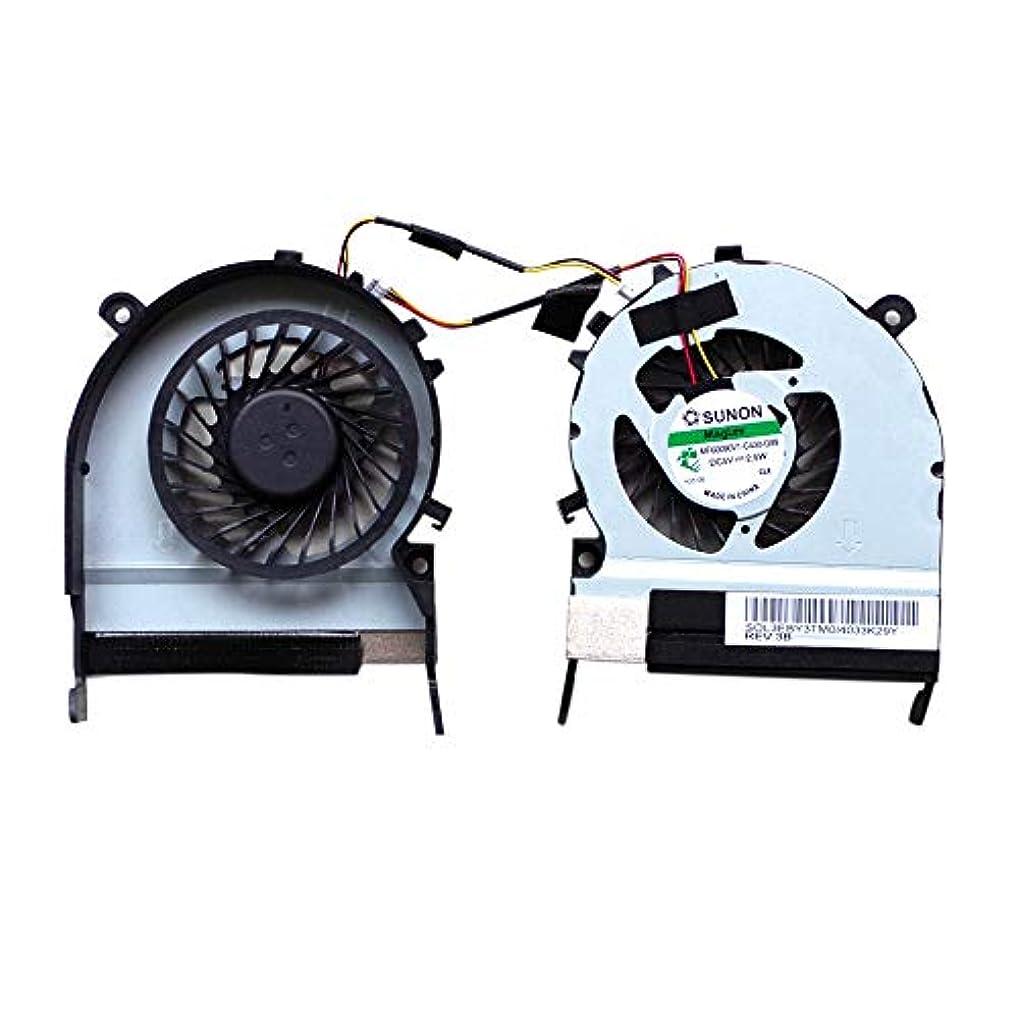 リーチメディック霧深いKMLP 电脑散热风扇配件 東芝Satellite M800 / M805用3ピン1.56Wラップトップラジエーター冷却ファンCPU冷却ファン