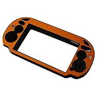 uirendjsf アルミ メタル 保護用 - ハード ケース カバー for Playstation PS Vita 1000 PSV コンソール カラー ゴールド