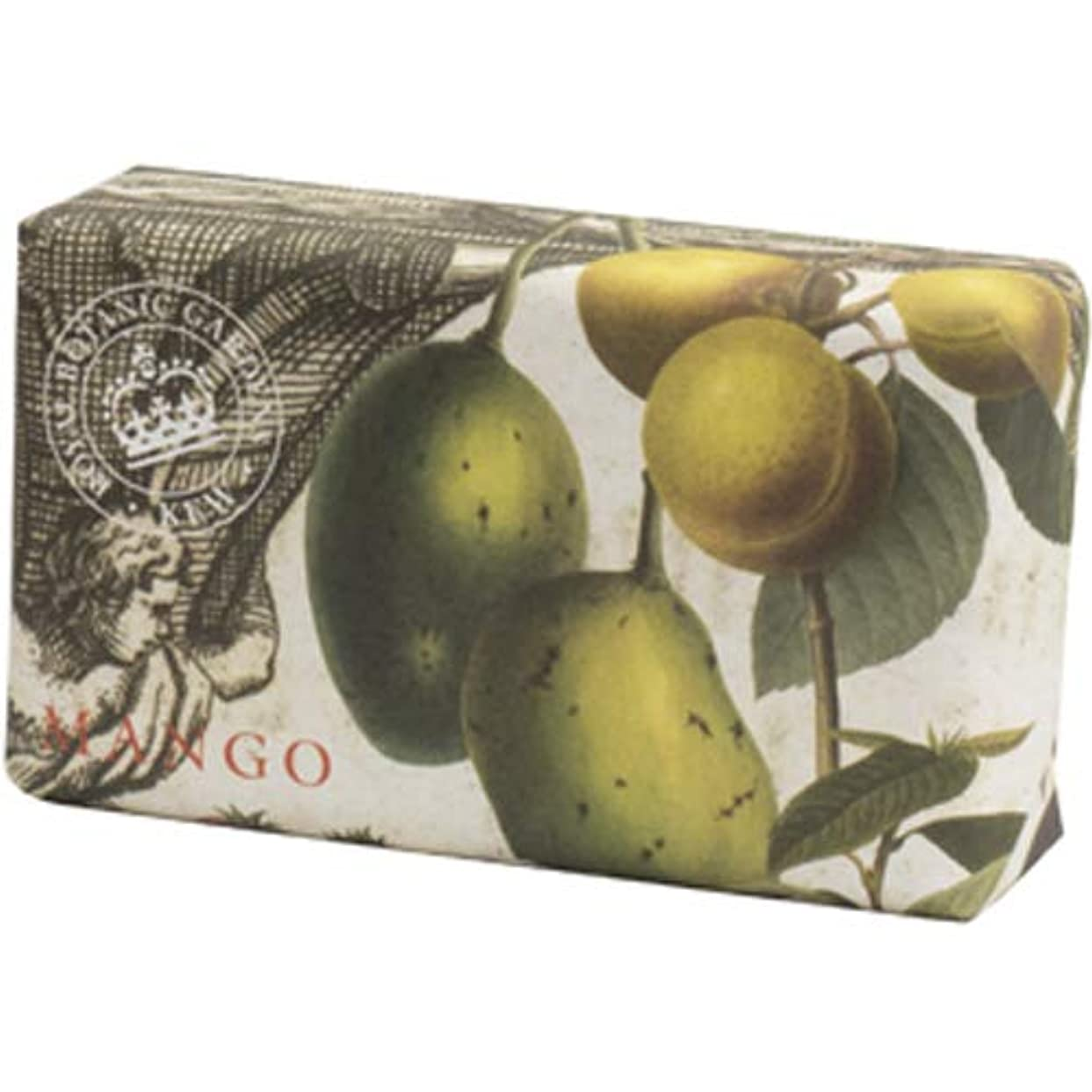 通貨成人期礼儀English Soap Company イングリッシュソープカンパニー KEW GARDEN キュー?ガーデン Luxury Shea Soaps シアソープ Mango マンゴー