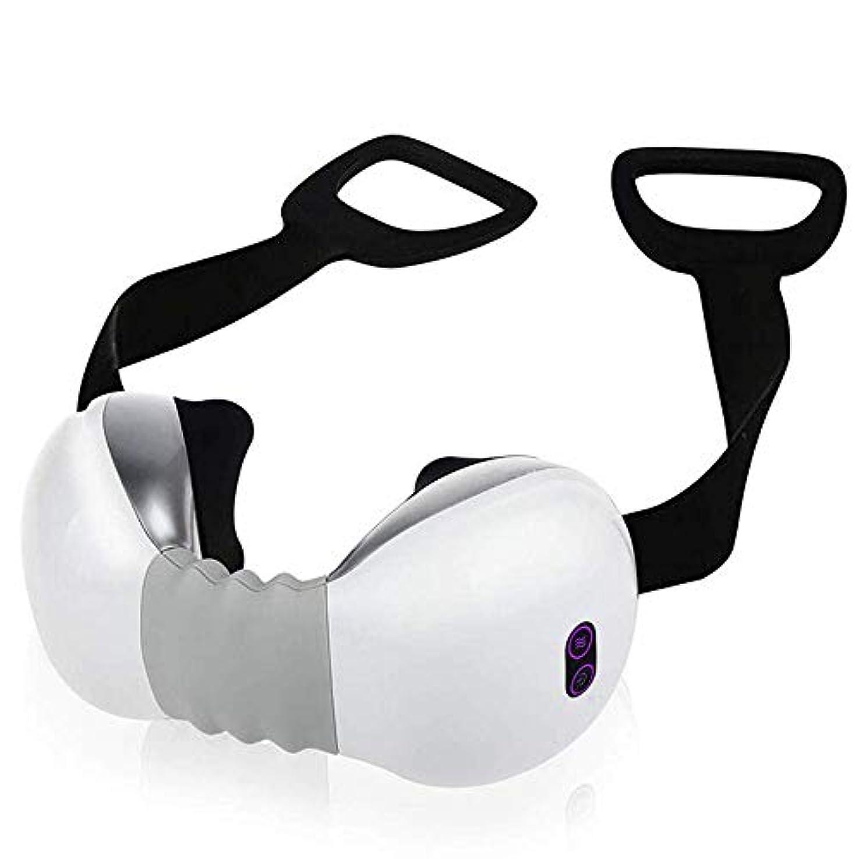充電式ディープ3D指圧ニーディングピローを使用したコードレス首と背中のマッサージは、首と肩の痛みを和らげます