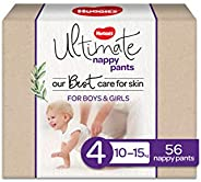 Huggies Ultimate Nappy Pants Size 4 (10-15kg) 56 Count
