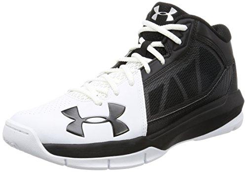 [アンダーアーマー] バスケットシューズ UA NIHON 2 1289129 102 WHITE/BLACK/WHITE 27.5
