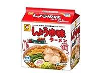 東洋水産 マルちゃん しょうゆ味ラーメン 5食パック×6セット 1ケース