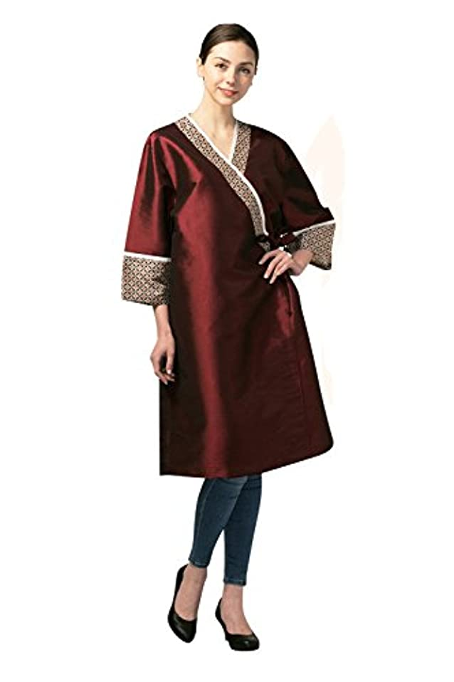 徐々に六政権高級 Hair Cutting Gown Hair Cutting Cape Hairdressing Cape サロン 用品 Red 並行輸入