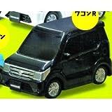 カプセルQミュージアム スズキデフォルメ軽自動車 [6.ワゴンR 黒 (MH34S/44S型)2012年型(ブルーイッシュブラックパール)](単品)