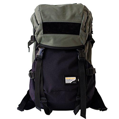 P01 x master-piece ( プレイ x マスターピース ) - FADE PLAY (フェイド プレイ) COLLABORATION SERIES 222131-P01 (MSPC x P01) 抜群なファッション性と機能性でタウンユースにもアウトドアにも 日本製 リュック バックパック リュックサック バッグ 鞄 (グレー)