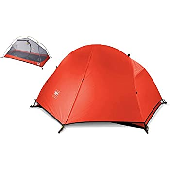 Soomloom [1人用] ULTRA LIGHT テント4シーズン サイクリング登山 トレッキング 用 ダブルウォーム式 紫外線防止 豪雨まで防止可能