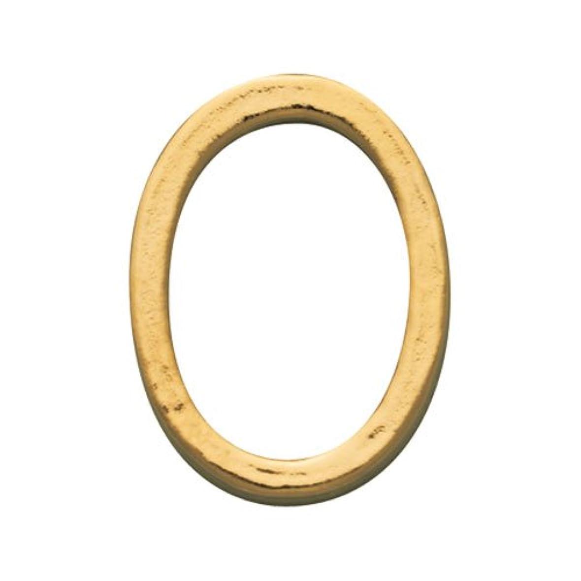 オアシス責暖かくプリティーネイル ネイルアートパーツ プレーンオーバルL ゴールド  10個