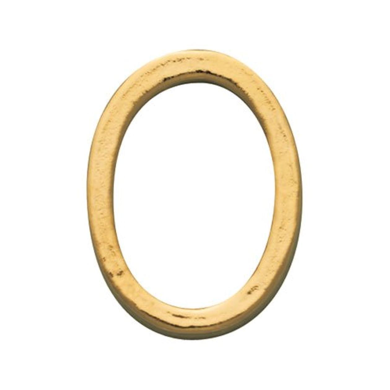 満足させるホイップ細心のプリティーネイル ネイルアートパーツ プレーンオーバルL ゴールド  10個
