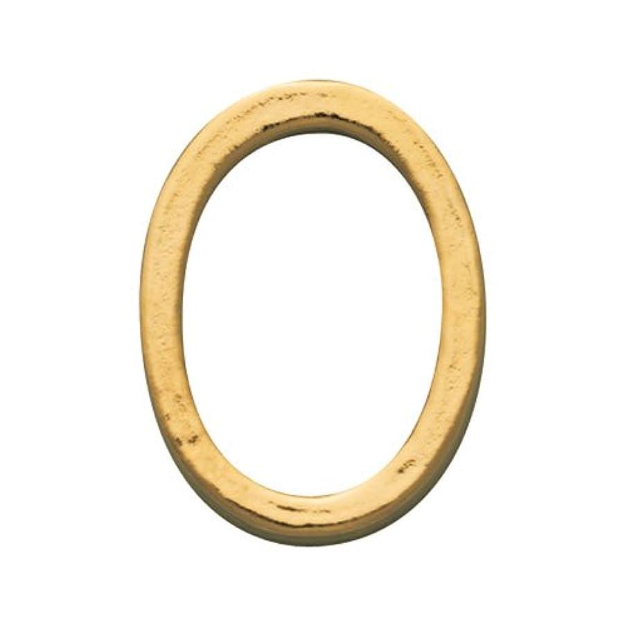 管理する絶えず撃退するプリティーネイル ネイルアートパーツ プレーンオーバルL ゴールド  10個