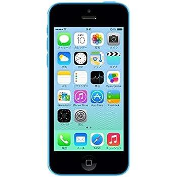 Apple iPhone5c 16GB ブルー 白ロム ME543J/A