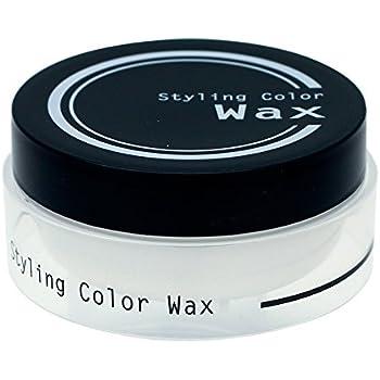 ビナ薬粧 スタイリングカラーワックス プラチナシルバー 80g
