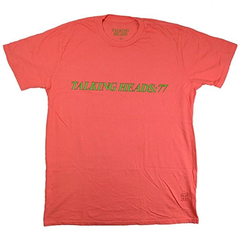 外科医忠実に宇宙TALKING HEADS トーキングヘッズ '77 Tシャツ サーモンピンク