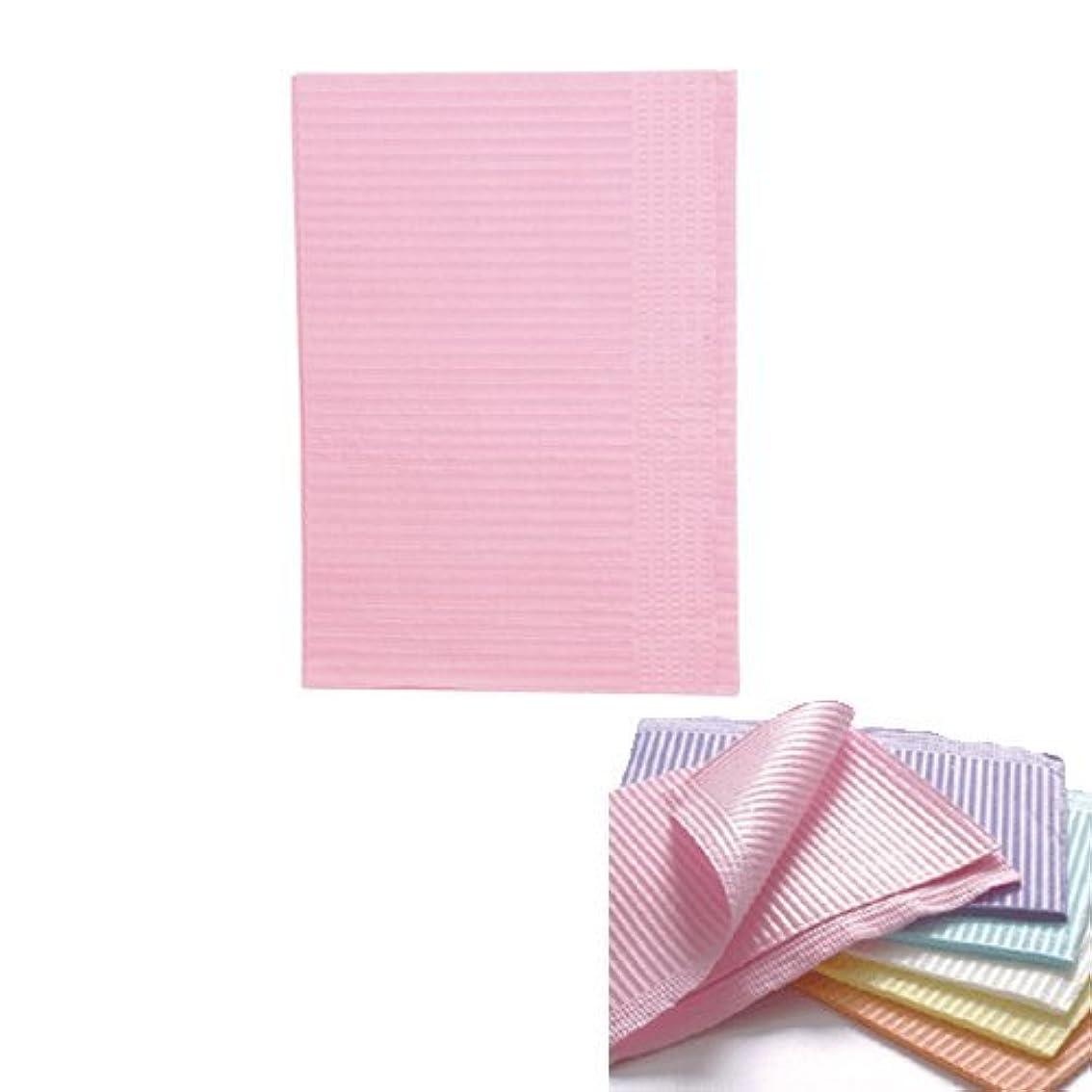 感じる思い出させるテクトニックネイル 防水ペーパー/裏面防水ネイルシート 50枚 ピンク