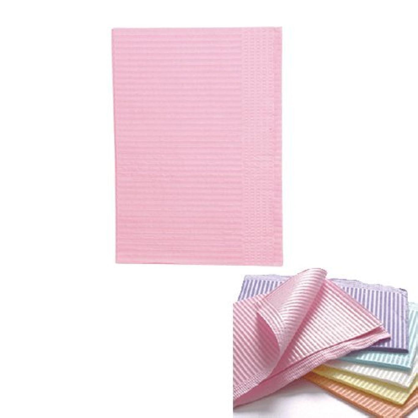 四記憶に残る落ち着くネイル 防水ペーパー/裏面防水ネイルシート 50枚 ピンク