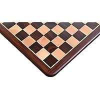 ノーブランド チェス盤 紫檀×柘植 51cm 50mm