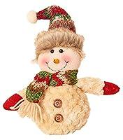雪だるまサンタクロース鹿ギフトお祝いのおもちゃの装飾、クリスマスの装飾#40