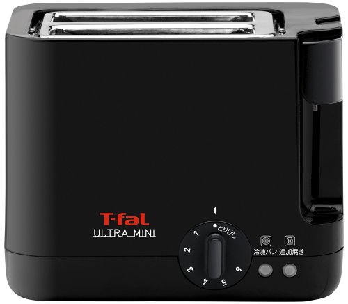 ティファール トースター ウルトラミニ ポップアップ バンウォーマー付き ソリッドブラック TT2118JP
