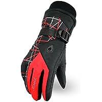 [ファイン?ショップ] スキーグローブ 手袋 男女兼用 グローブ アウトドア 冬用 バイク用 サイクリンググローブ 自転車 防風 防寒 暖か スキー  スノーボード 登山 ハイキング 旅行用 滑り止め 4色