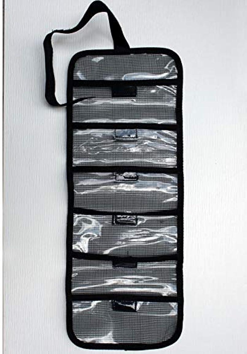 ばかげた外観安全性FishTamer 6ポケット ロールアップルアー タックルバッグ 2.5インチ×9インチ ポケット - 全体20インチ×9インチ