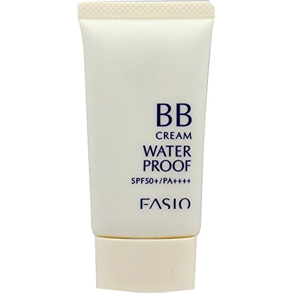 適用する浸透する屋内ファシオ BB クリーム ウォータープルーフ 自然な肌色 02 30g