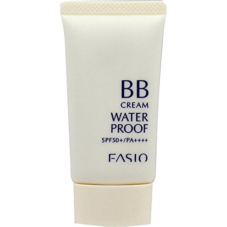 マイナスしなやかな明らかにファシオ BB クリーム ウォータープルーフ 自然な肌色 02 30g